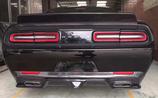 Dodge Challenger 2015 2016 2017 2018 Heckspoiler Carbon Fiber