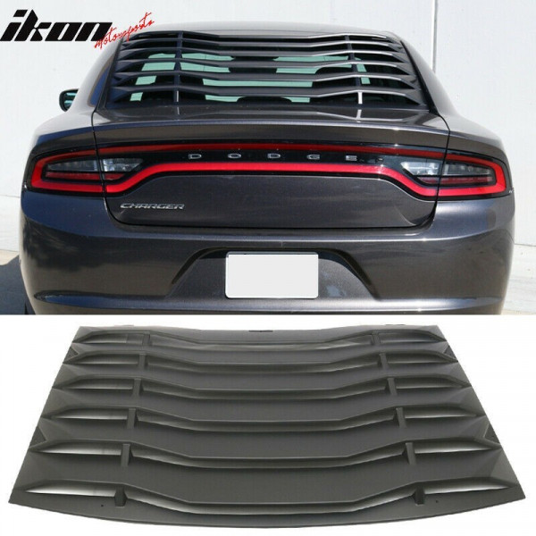 REAR WINDOW LOUVERS (CHARGER 2011-2021 ALL)
