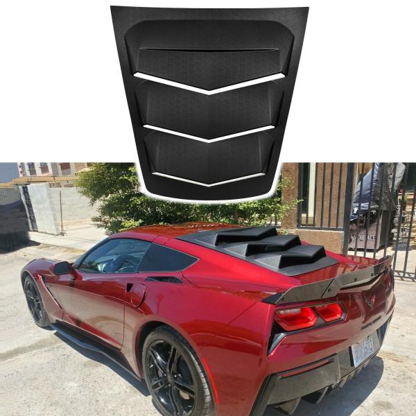 Hecklouver Sun Shade Vent ABS für 2014 ~ 2019 C7 Corvettes Corvette