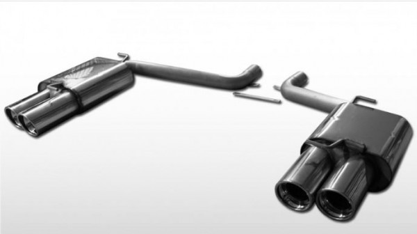 Dodge Challenger Endschalldämpfer rechts/links - 2x100 Typ 17 rechts/links