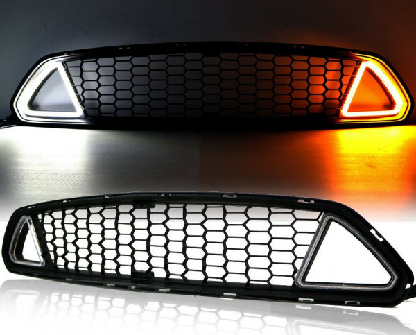 Ford Mustang 2015 - 2017 Oberer Grill Beleuchtet