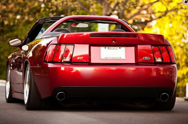 Für 99-04 Ford Mustang CBR Style Heckspoiler