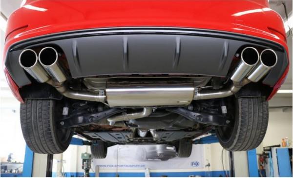 Audi A3 - 8V Limousine Endschalldämpfer quer Ausgang rechts/links - 2x80 Typ 16 rechts/links
