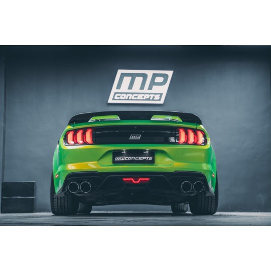 GT500 Style Heckstoßstange & Diffusor Kit (FORD MUSTANG 2015-2020 Ecoboost, V6, GT)