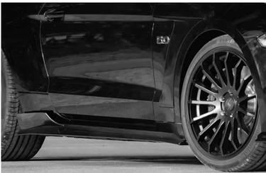 Ford Mustang ab 2018 Seitenschweller mit Tüv