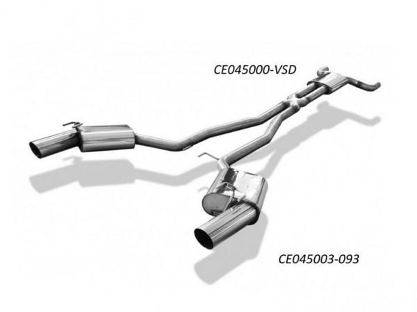 Chevrolet Camaro Endschalldämpfer rechts/links - 1x100 Typ 14 rechts/links
