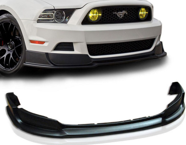 Ford Mustang 2010 - 2014 Rt Style Front Bumper Lip Spoiler