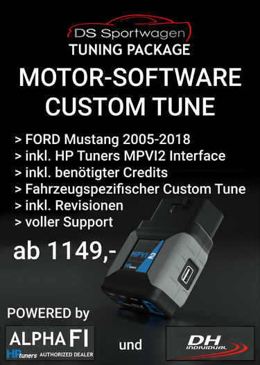 DS-Sportwagen Motor Software Custom Tune