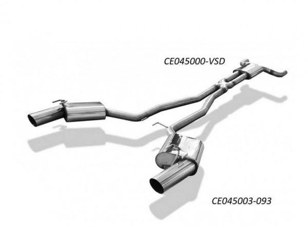 Chevrolet Camaro Vorschalldämpfer rechts/links