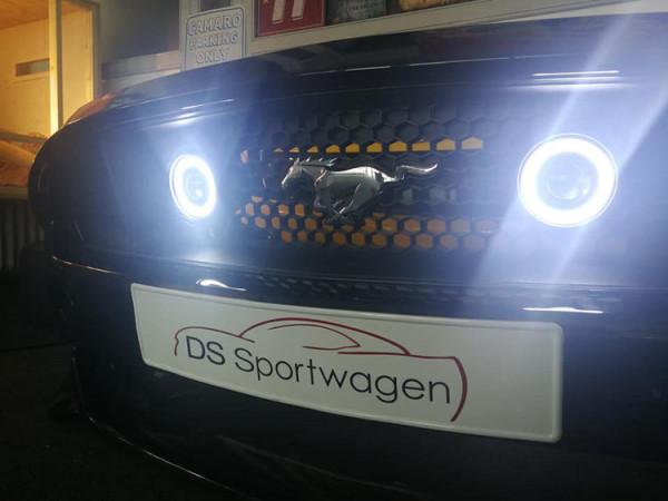 DS-Sportwagen Custom Fog Angel Eyes Lampen