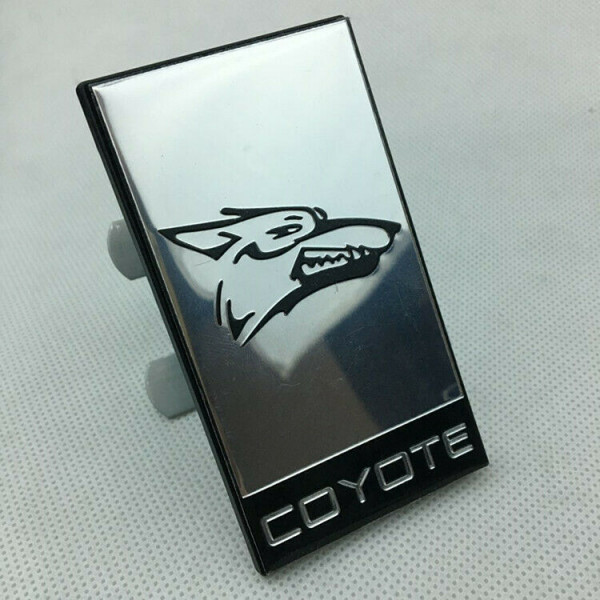 Coyote Emblem Metall