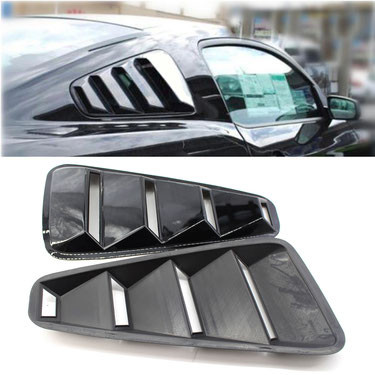 Window Louvers Scoop Cover Vent für Ford Mustang 2005-2009