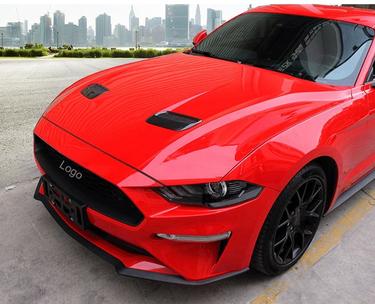 Ford Mustang ab 2018 Facelift Motohauben Lufteinlass Abdeckung