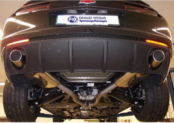 Chevrolet Camaro Endschalldämpfer rechts/links - 1x100 Typ 16 rechts/links