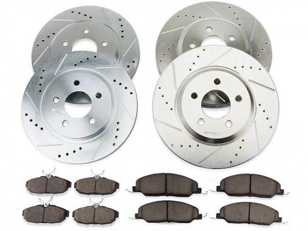 Power Stop Bremsensatz Ford Mustang ab 2015 Brembo