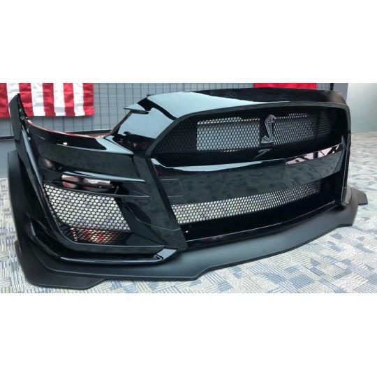 GT500 Style Frontstoßstange - FORD MUSTANG 2015-2017 EcoBoost, V6, GT)