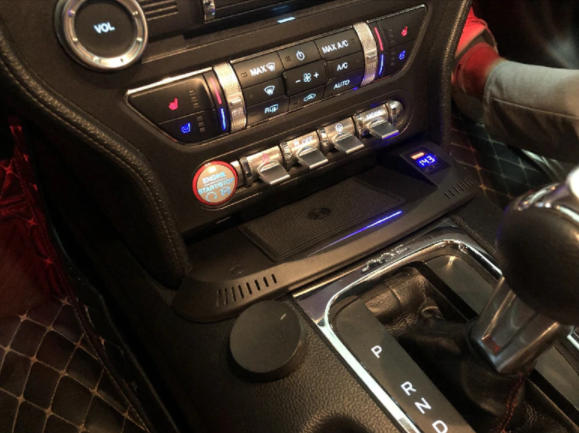 Ford Mustang 2015 - 2020 Wireless Charging System