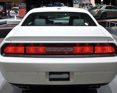 Dodge Challenger 2008-2015 Heckspoiler ABS Kunstoff