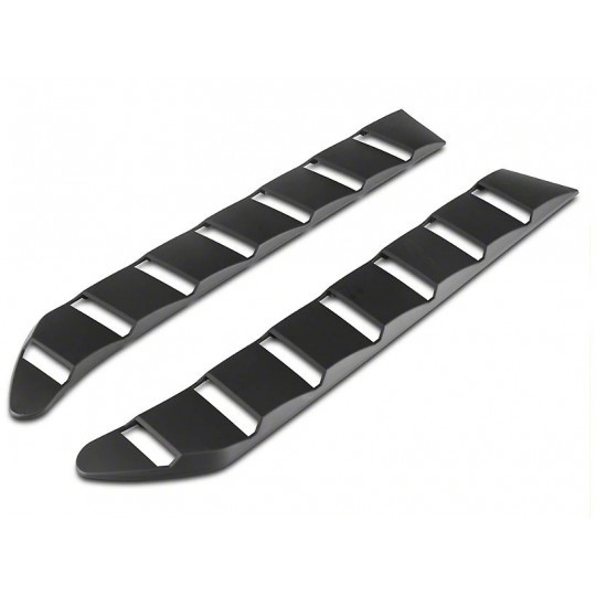 SPORT REAR WINDOW LOUVERS - MATTE BLACK (MUSTANG 2015-2021 FASTBACK)