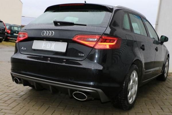 Audi A3 - 8V Sportback Endschalldämpfer Ausgang rechts/links - 160x90 Typ 38 rechts/links