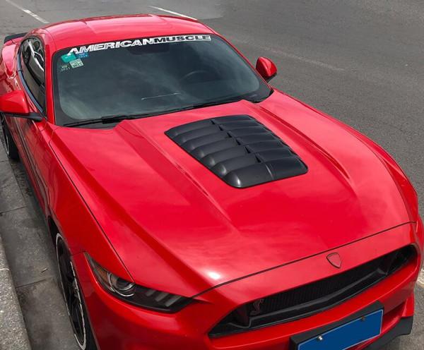 Ford Mustang 2015 - 2021 Motorhauben Hutze