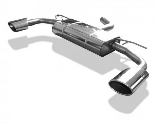 Audi A3 - 8V Sportback Endschalldämpfer Ausgang rechts/links - 140x90 Typ 44 rechts/links
