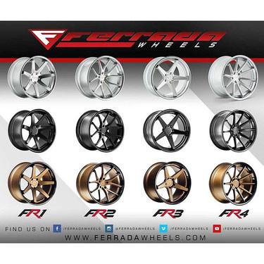 Ferrada FR 1 , FR2 , FR3, FR4 9*20 ET 25 5*114,3 Ford Mustang Variante wie Farbe frei wählb