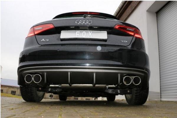 Audi A3 - 8V Sportback Endschalldämpfer Ausgang rechts/links - 2x90 Typ 16 rechts/links