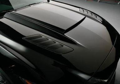 Ford Mustang ab 2015 bis 2017 Motorhutze Roush Style Schwarz Matt