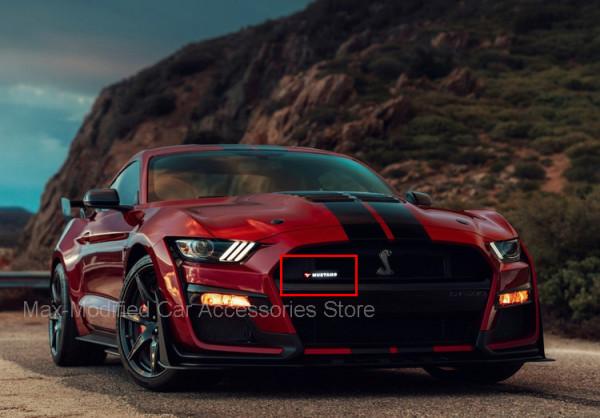 Ford Mustang Schriftzug Beleuchtet für den Frontgrill