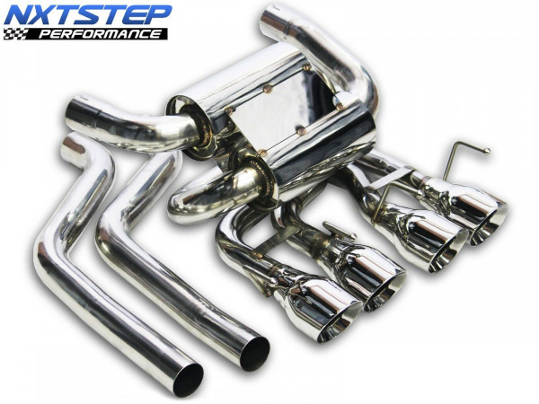 NXT Step Performance 2005-08 C6 Corvette Axle Back Exhaust System