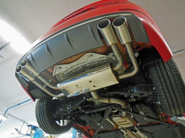 Audi S3 - 8V Stufenheck+Cabrio Endschalldämpfer Ausgang rechts/links - 2x106x71 Typ 44 rechts/links
