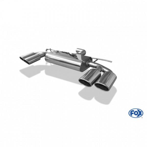 Fox VW Golf VII - 2,0l GTI mit R-Optik Endschalldämpfer rechts/links - 2x115x85 Typ 32 rechts/links