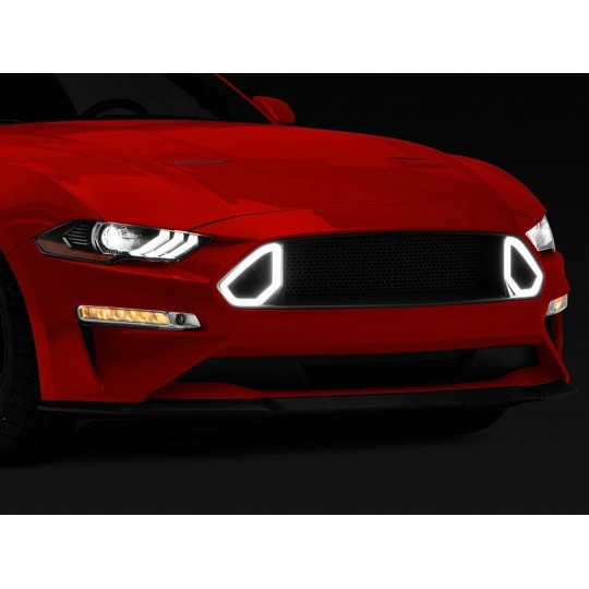 RTR LED Oberer Frontgrill (MUSTANG 2018-2021 ECOBOOST, GT)