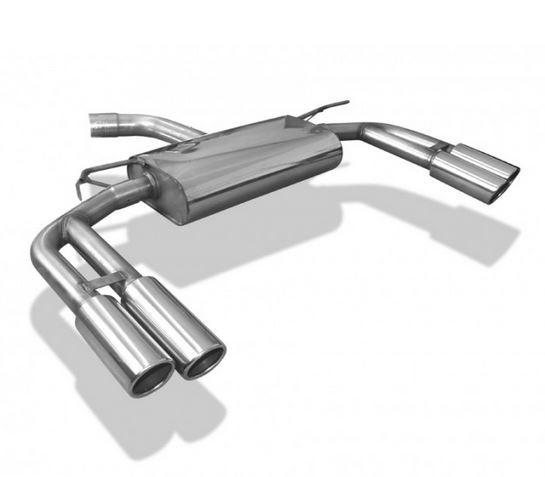 Audi A3 - 8V Sportback Endschalldämpfer Ausgang rechts/links - 2x88x74 Typ 32 rechts/links