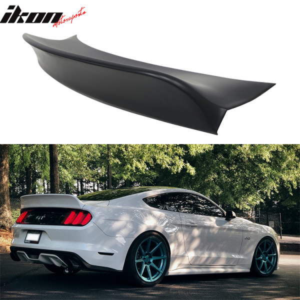 Ford Mustang 2015 - 2019 Coupe IKON Style Duckbill Trunk Spoiler PP