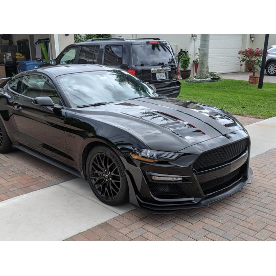 IKON GT500 STYLE FRONT Stoßstange - (MUSTANG 2018-2021 ECOBOOST, GT)