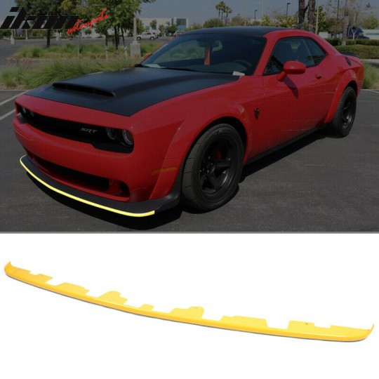 FRONT BUMPER LIP SPLITTER GUARD (CHALLENGER 2015-2021 DEMON)