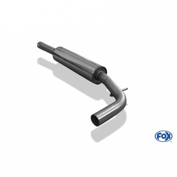 VW Lupo 6X Vorschalldämpfer