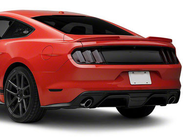 Ford Mustang 2015-2018 Ford Racing Heckblende ohne Logo